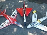 Name: 2014-04-13 15.17.06.jpg Views: 541 Size: 639.6 KB Description: Freewing 90mm Stinger 90, Freewing 80mm Mirage 2000C, Freewing 80mm F-86 Sabre