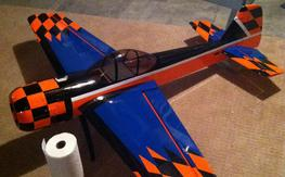30cc Yak 55 with DLE 30 and Hitec servos BNF