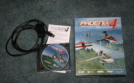 Phoenix R/C  Flight Simulator V4.0 w/ USB Dongle