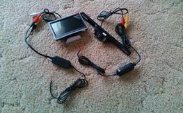 "Car Reverse Camera Setup with 5"" Monitor"