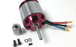 Align 730MX Brushless Motor(850KV)HML73M01-KW/16T H55G003XXW Pinion T-Rex 550