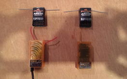 4x 6 Channel DSM2 Receivers