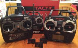Tactic 650 & 600 w/3 receivers