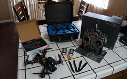 QAV250 G10 Mini FPV Quadcopter Set Up