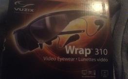 Vuzix wrap 310 video goggles