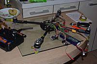 Name: 11.jpg Views: 64 Size: 746.4 KB Description: Frame assembly - all motors in place, connectivity tested.