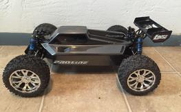 Losi TLR Ten-T Truggy Brushless Conversion 4x4 Roller 1/10 Very Nice Must See!