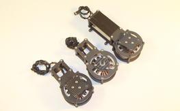 Brushless Gimbal Motor Assembly Complete, iPower GBM5208-150T motors