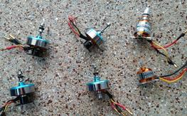 4 X DT750  Motors