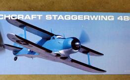 Eflite Beechcraft Staggerwing NIB w/retracts