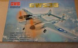 GWS - GWS38 (P38) NIB, Silver