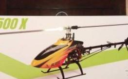BLADE 500X  Mint Cond, FLew only 6 times