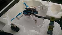 blade fpv Nano qx w/ fatshark v4 goggles