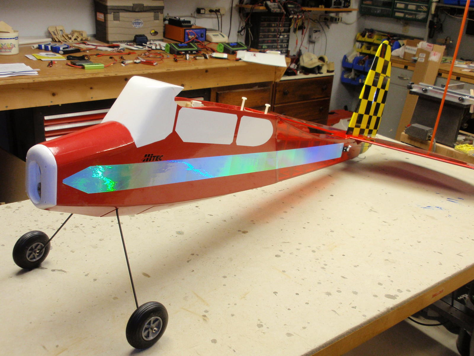 Name: Airborn 1600 covered and ready for motor. 008.jpg
