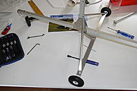 Name: img_9198.jpg Views: 77 Size: 499.0 KB Description: The completed main frame with main gear and nose wheel assembled.