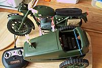 Name: 003.jpg Views: 25 Size: 178.8 KB Description: Currently sidecar has two wheels as I tried to use them to steer the combination.