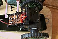 Name: 004.jpg Views: 26 Size: 121.7 KB Description: Thunder Tumbler stunt car, front removed as only needed the two independent drive rear axles.