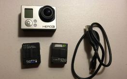 Gopro hero 3 black Like new condition.