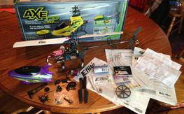 Heli-Max AXE CP, many upgrades