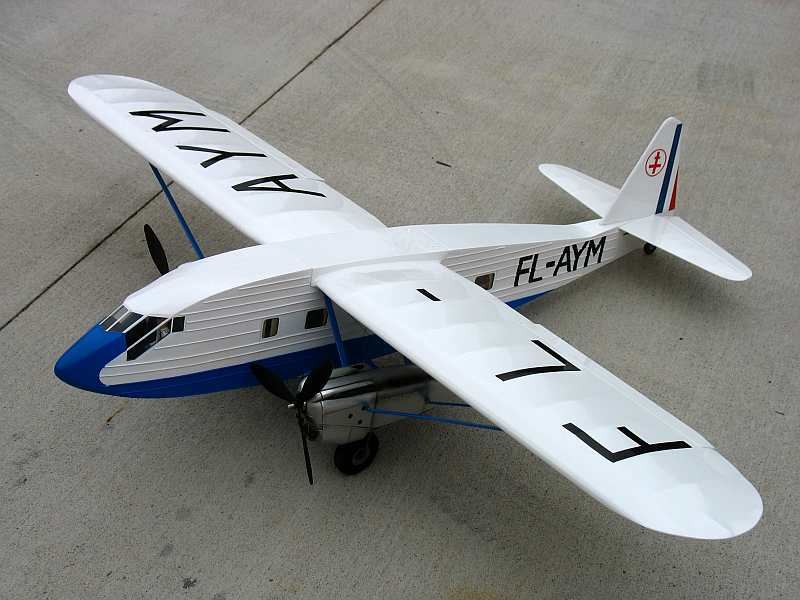 "Potez 621 - own design twin. 62"" with twin Venom 1275 motors."