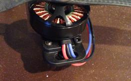 NEW SUNNYSKY 480kv x 4 with soldered bullet connectors