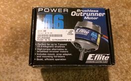 Eflight 46 outrunner motor NIB and ESC!
