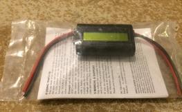Watt's Up digital watt/amp/volt meter NIP