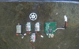 Blade MCPX V2 Board + Servos + Parts