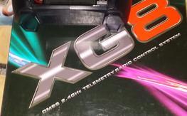 Xg8 DMSS radio, 2 jr rj01 satalites