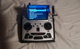 Walkera DEVO F12E FPV LCD Radio Transmitter /Receiver combo W/ EXTRA 9.5bi 5.8ghz ANT