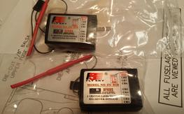 Two FlySky FS-R8B Receivers