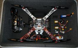 DJI F450 RTF FPV w/DX8 Tx