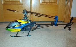 Dynam E-razur 450 w/upgrades RTF