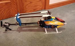 New, never flown Tarot 450 Pro FBL, conversion parts included