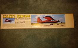 """NIB Sig balsa kit, """"Kadet Senior"""" 78"""" wingspan"""