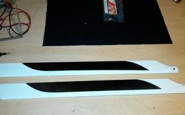 690 mm Main Blades