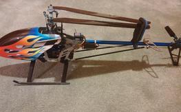 Trex 450 FBL SE V2 Frame, Complete ...LAST TRY