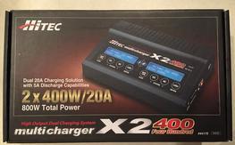 NIB Hitech X2-400 charger