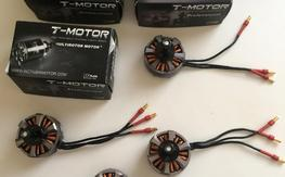 Set of 4 T-Motor MT4006 Tiger Motor 740kv