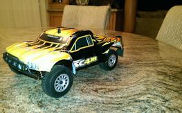 Dromida 1/18 SC4.18 Short Course Truck 4WD 2.4GHz  (NO TRANSMITTER,NO MOTOR)