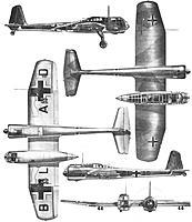 Name: Blohm&Voss-BV-141-Nazi-Experimental-Recon-Aircraft-3-View.jpg Views: 4 Size: 27.7 KB Description: