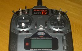 Spektrum DX6i DSM2 radio