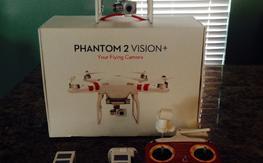 Like New Phantom 2 Vision +