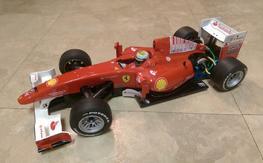 Tamiya F104 Pro with custom 2010 Ferrari F10 body and extras