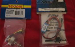 Brushless motor and esc    new in pkg