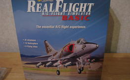 New  never loaded  Realflight basic