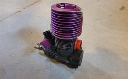 HPI Nitro F4.6 engine w/ Roto start