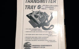 Deluxe Transmitter Tray w/Hand Rests & Harness