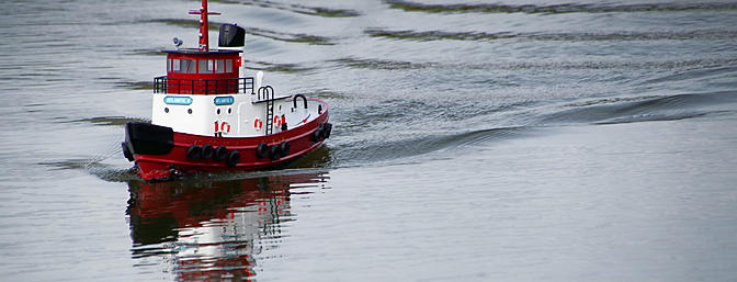 AquaCraft Atlantic II Tugboat