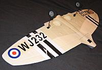 <font size=-2>Completed wing assembly</font>